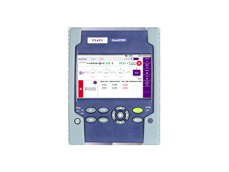 Réflectomètre optique (OTDR)